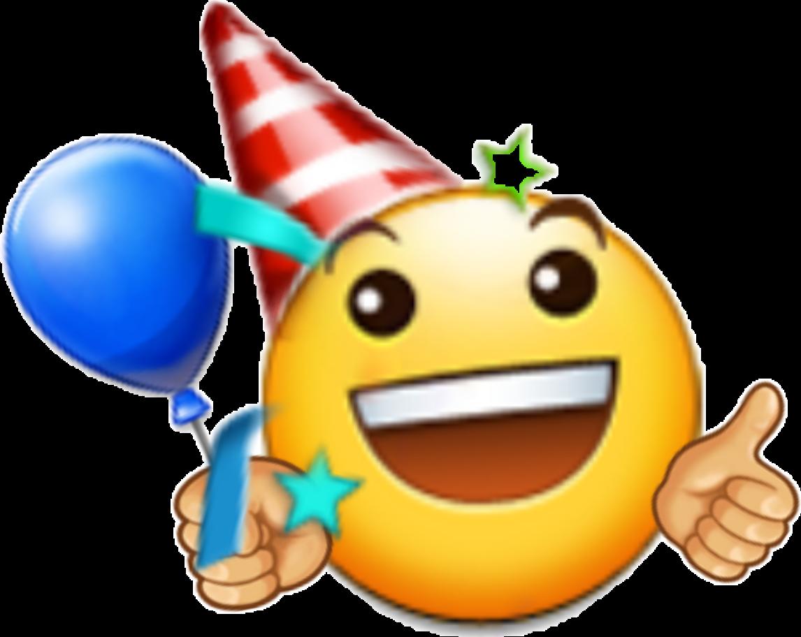 Emotions birthday happy happybirthday. Emoji clipart emotion