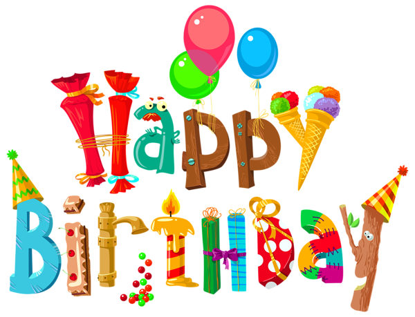 Funny clipart image gallery. Happy birthday images png