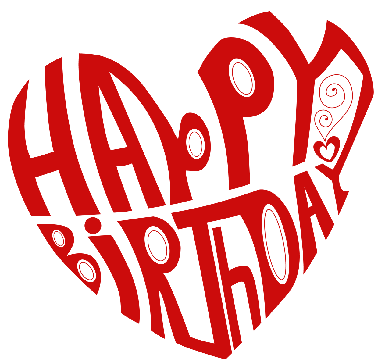 Clipart birthday heart. Transparent happy png picture