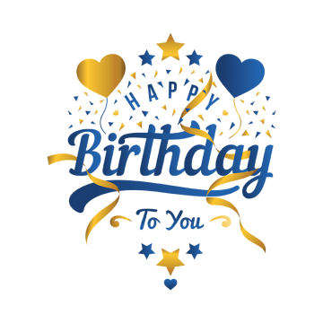Png images download resources. Birthday clipart logo