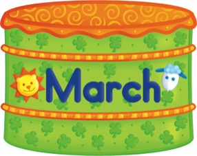 Free cliparts download clip. Birthday clipart march