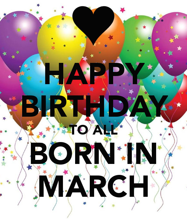 Birthdays new clip art. Birthday clipart march
