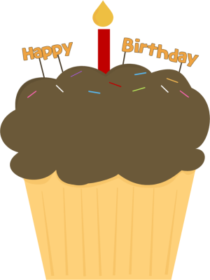 Free downloadable cupcakes links. Birthday clipart muffin