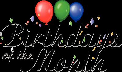 Birthday clipart october. Clipartaz free collection clip