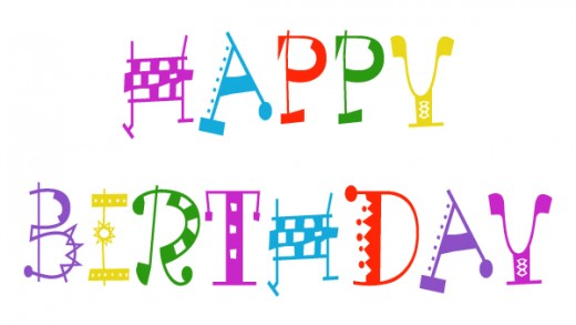 Happy for email best. Birthday clipart printable