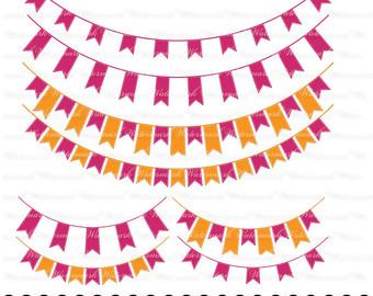 Birthday clipart ribbon. Green peach banner graphics