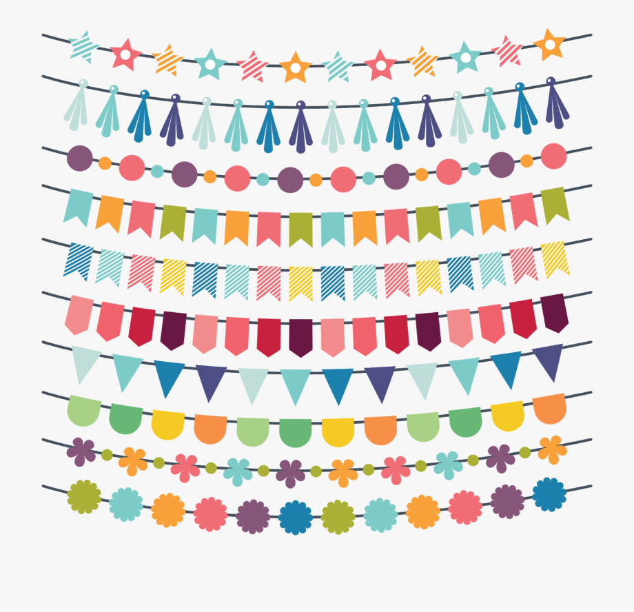 Birthday clipart ribbon. Free flags happy png