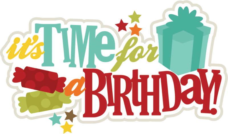 June clipart april birthday. Its time for a
