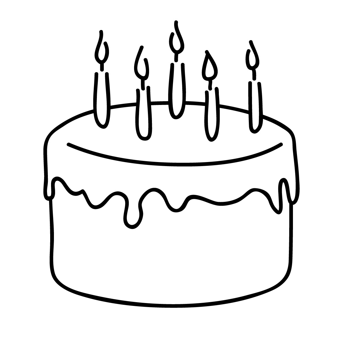 cake clipart simple