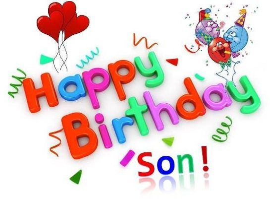 Birthday Clipart Son Birthday Son Transparent Free For Download On Webstockreview 2020