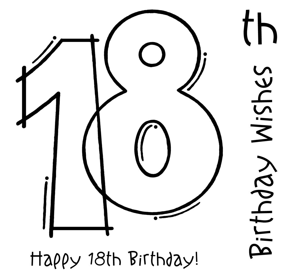 Woodware frs th clear. Birthday clipart stamp