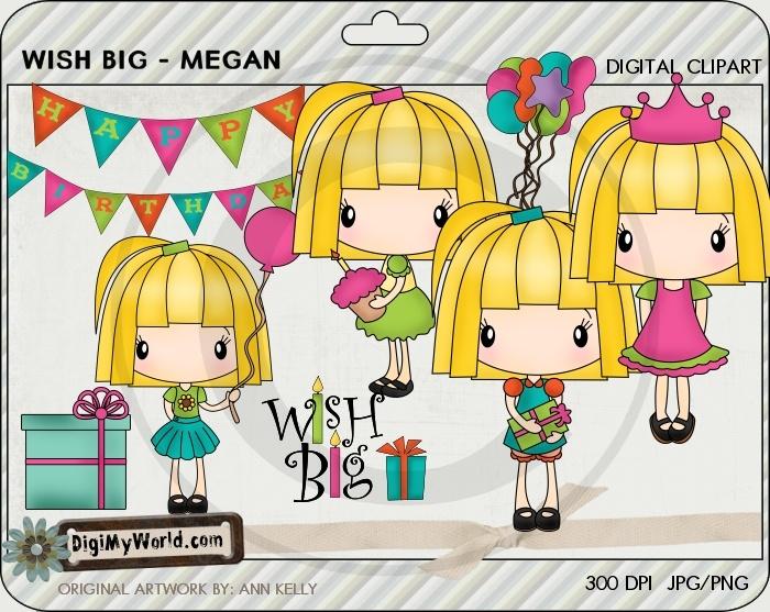 Birthday clipart stamp.  best super cute