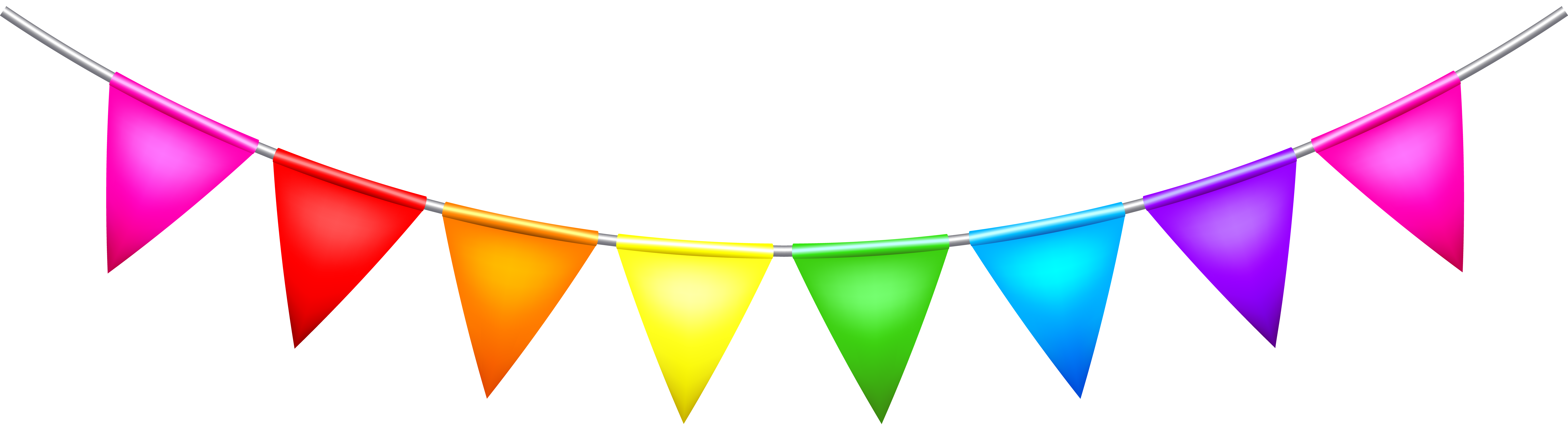 Party png clip art. Birthday clipart streamer