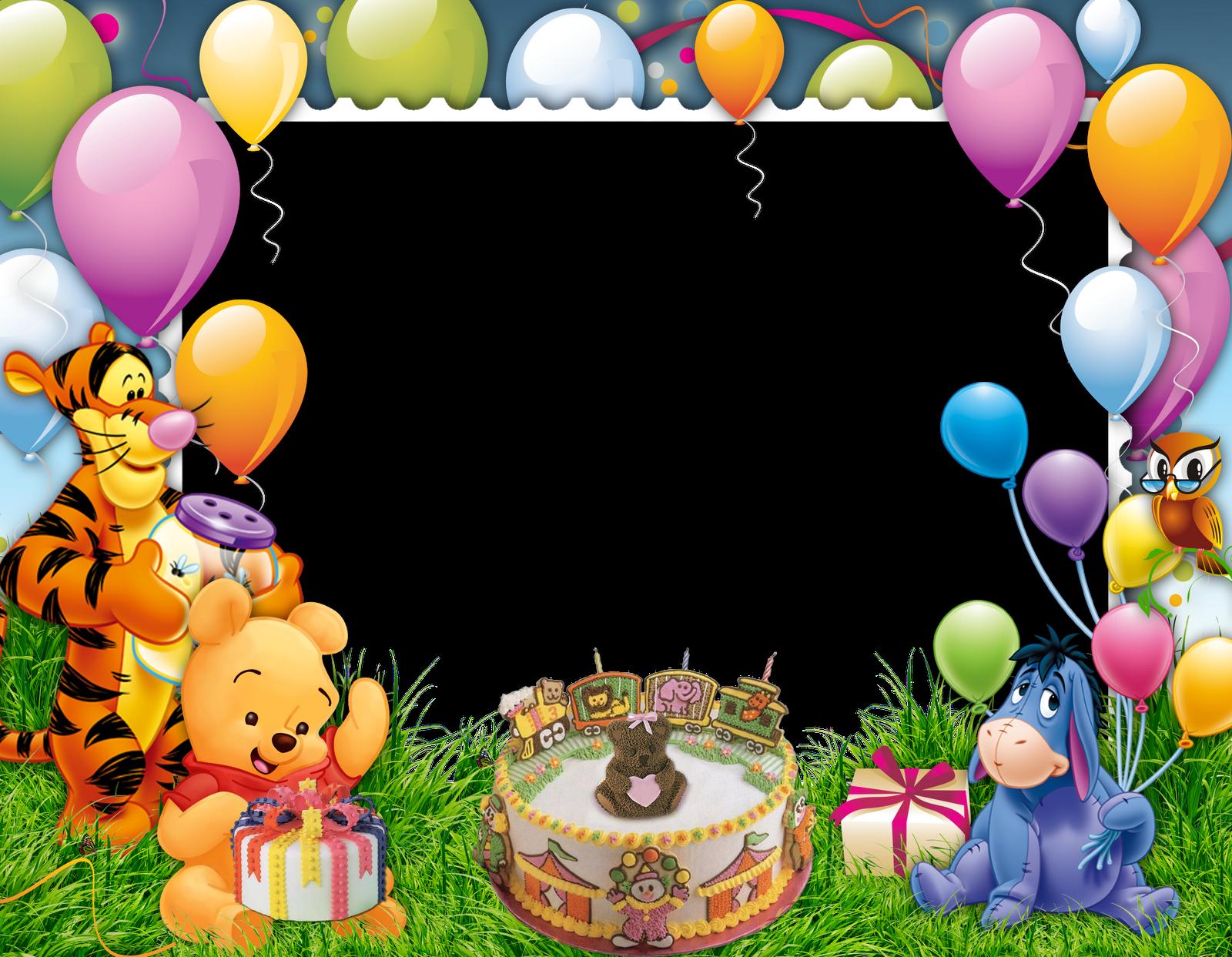 Photoshop for birthdays uma. Birthday frame png