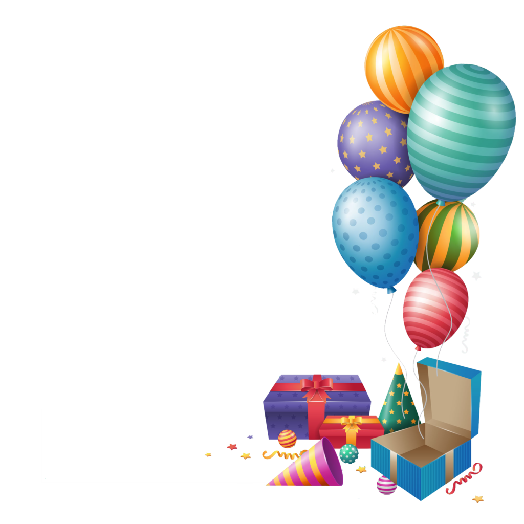 Happy balloons gift peoplepng. Birthday png images