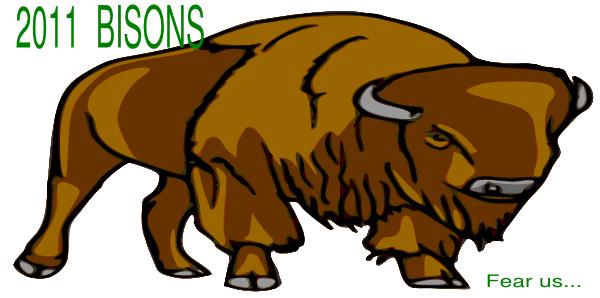 Bison clipart. Clip art at clker