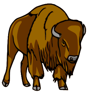 Panda free images bisonclipart. Bison clipart