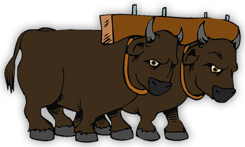 Bison clipart animated. Free animals animal gifs