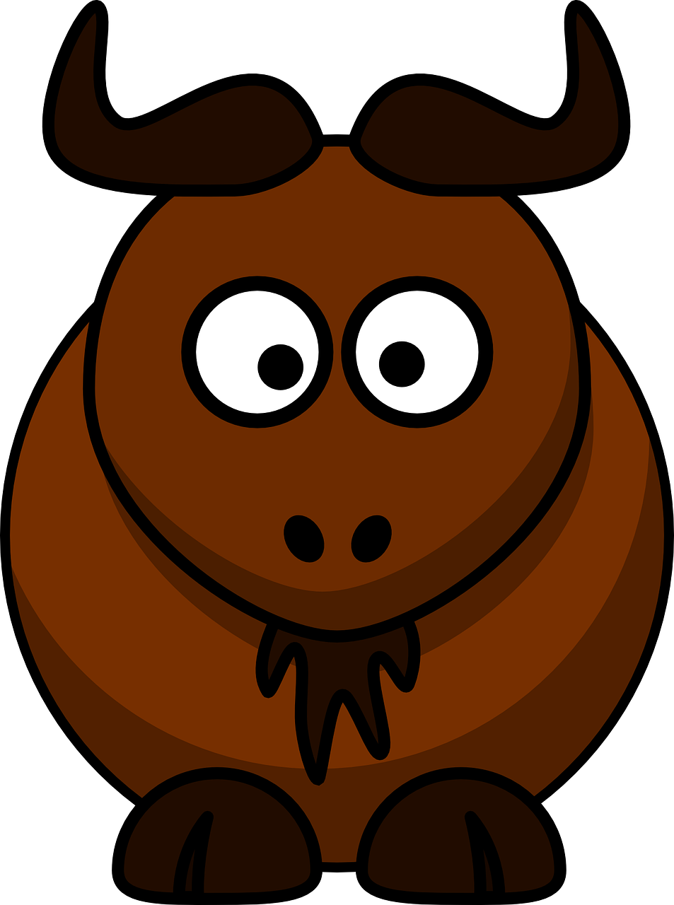 Elk clipart angry. Free image on pixabay