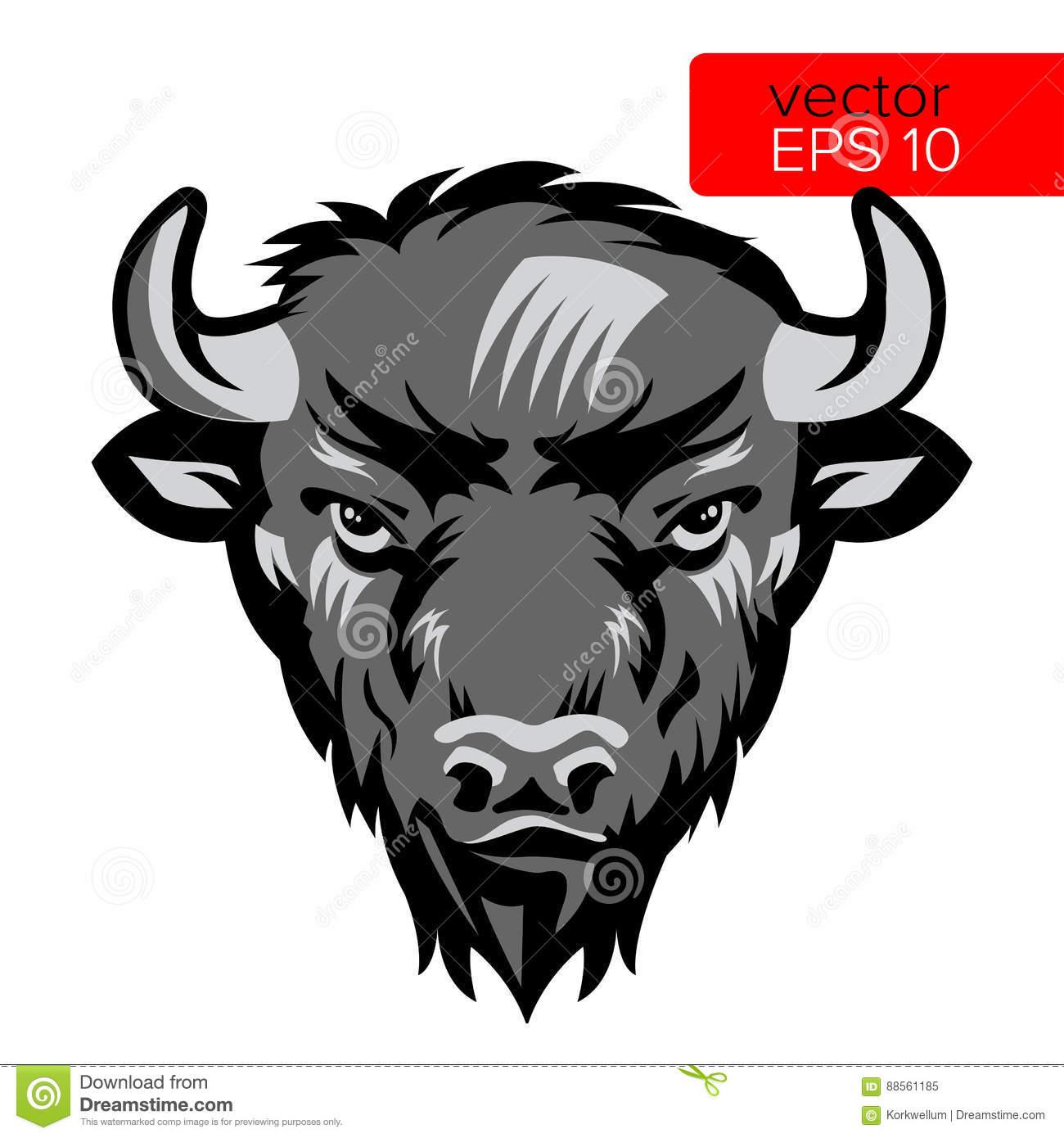 Bison clipart bufallo. Buffalo mascot