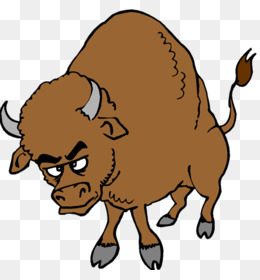 Cattle water clip art. Buffalo clipart bison