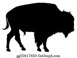 Bison clipart buffalo herd. Clip art royalty free