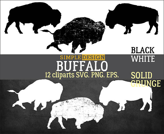 Svg graphic png grunge. Bison clipart buffalo silhouette