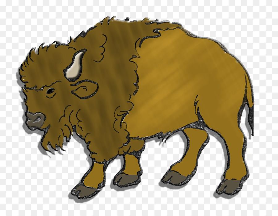 Bison clipart cartoon. Sheep illustration