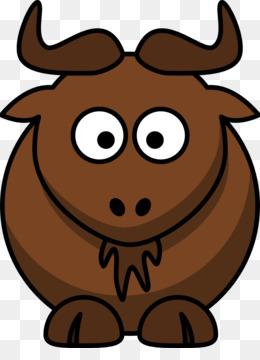 Water buffalo cattle american. Bison clipart cartoon