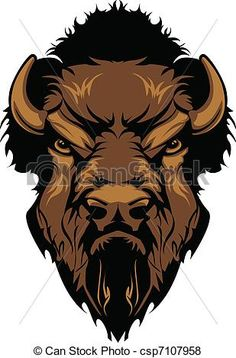 Pin by melissa on. Bison clipart dead