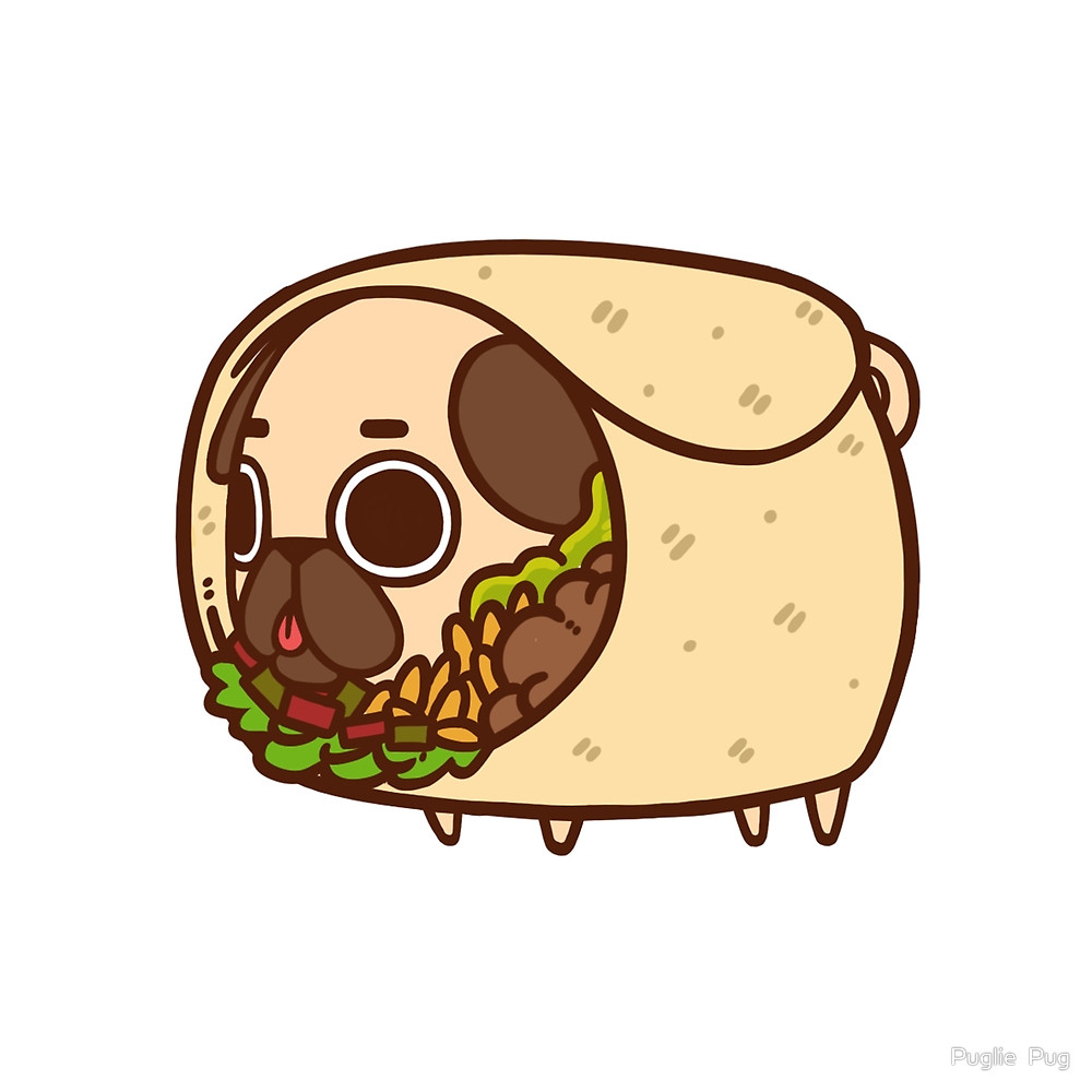 Burrito drawing at getdrawings. Bison clipart kawaii