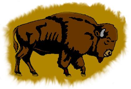 Buffalo clipart kid. Mascot clipartix
