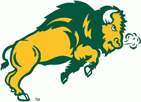 Bison clipart mascot.  best ndsu spirit