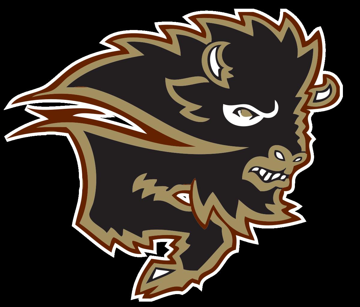 Manitoba bisons wikipedia . Bison clipart mascot