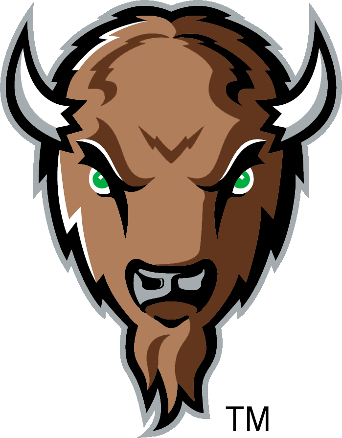 Bison clipart mascot. Marshall university cos it