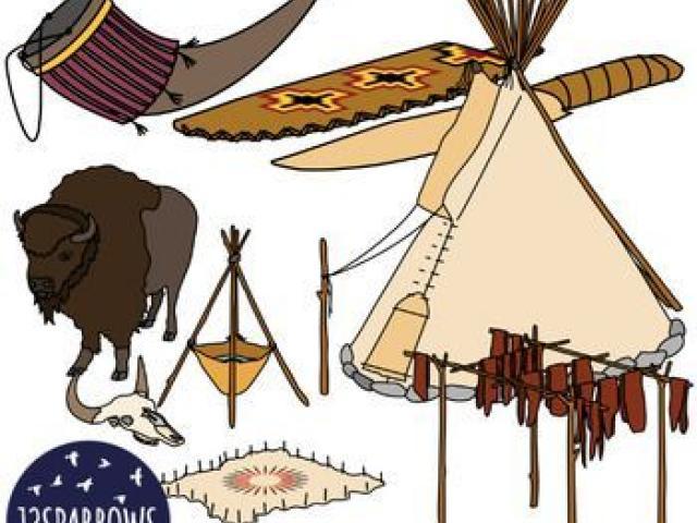 Free download clip art. Bison clipart plains indians