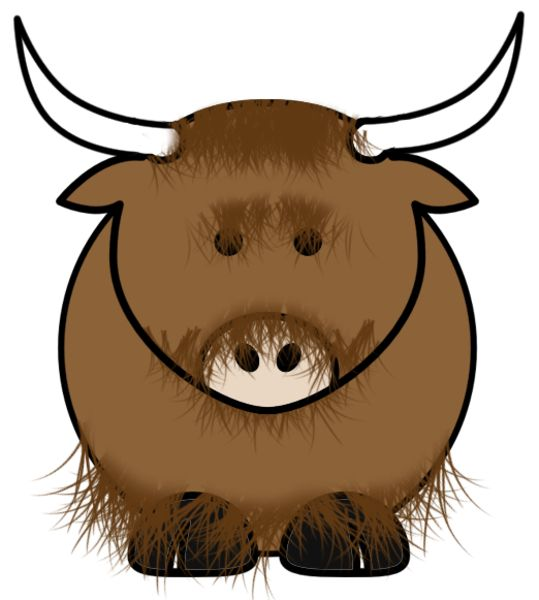 best yaks images. Bison clipart yak
