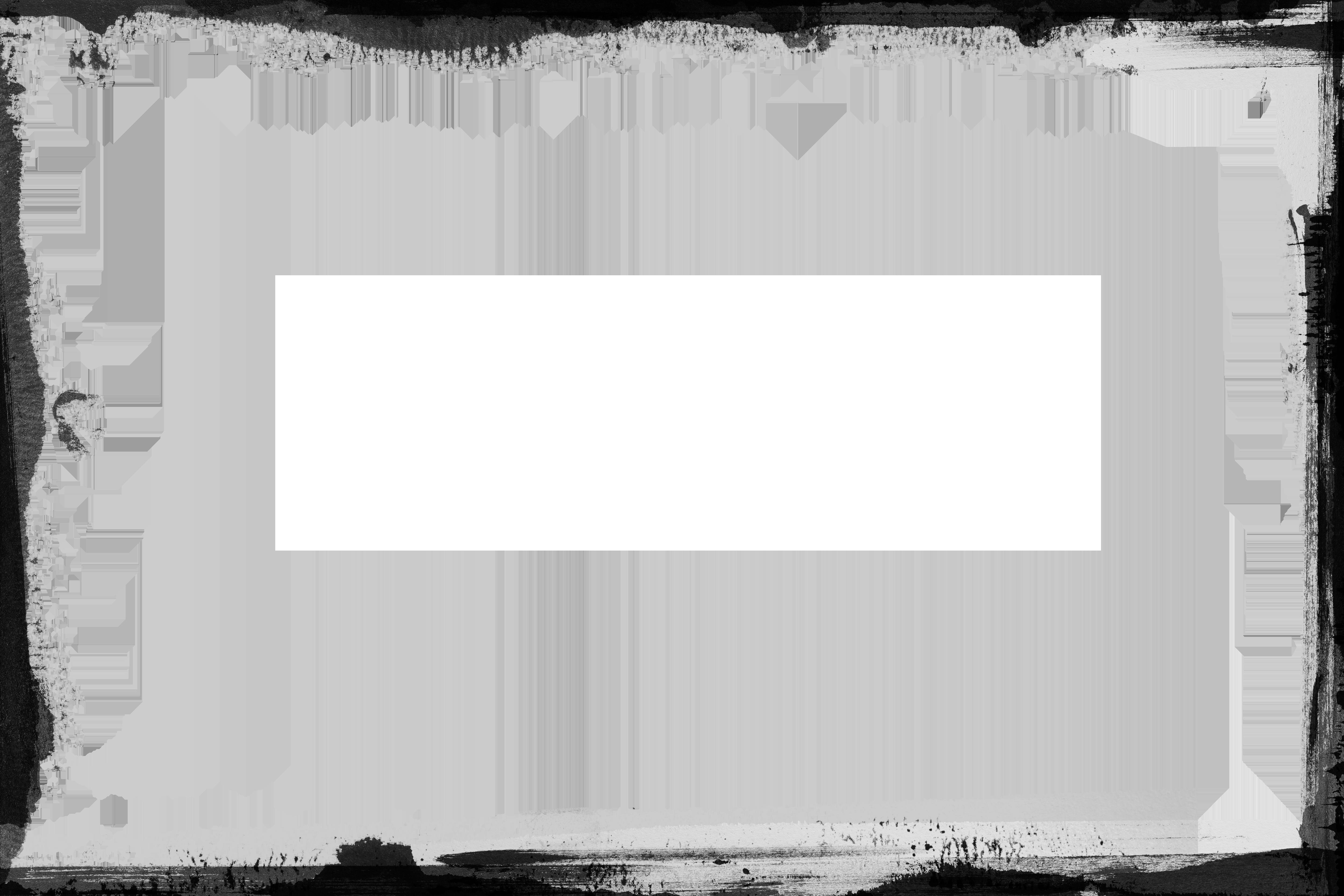 Retro template psdgraphics. Black border png