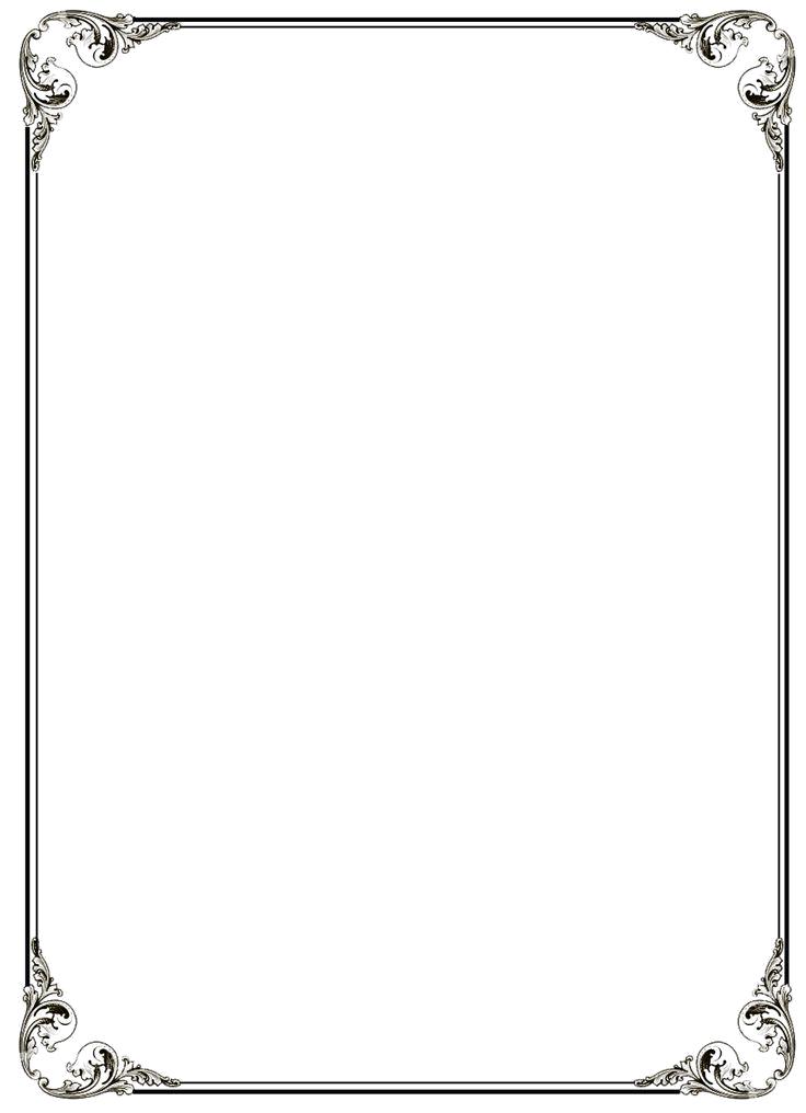 Black border png. Frame file mart