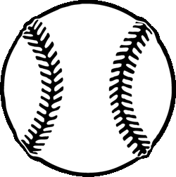 collection of high. Black clipart baseball