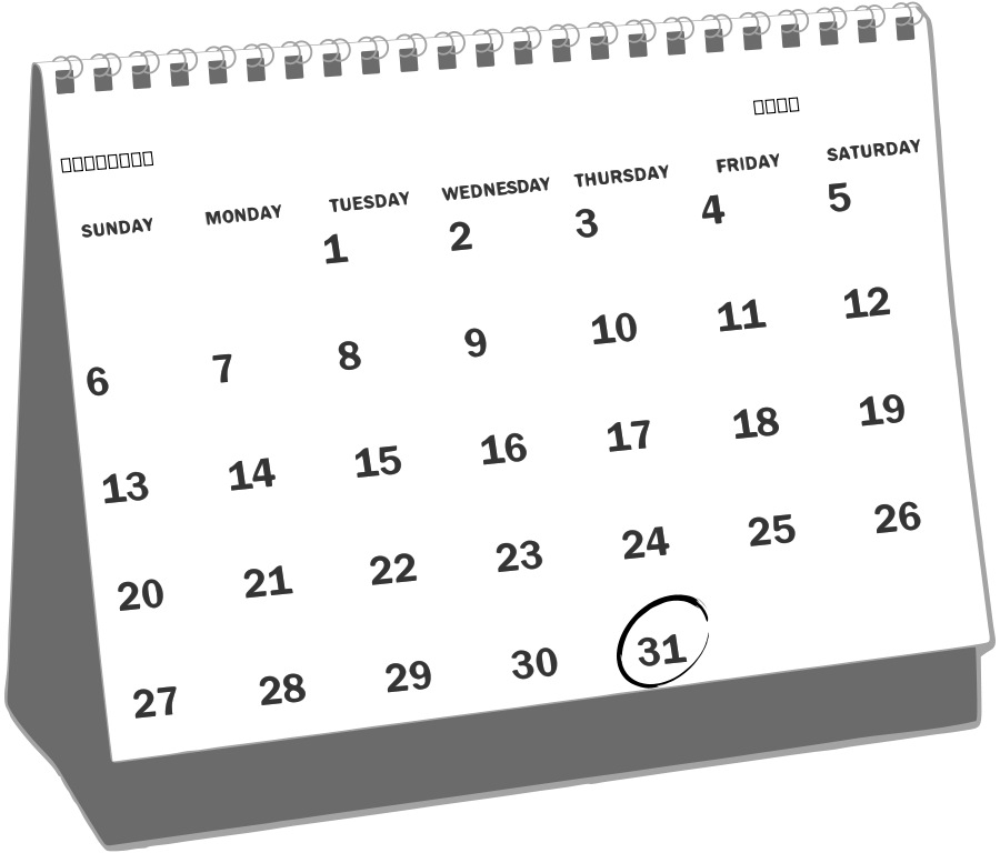 Blank https momogicars com. Calendar clipart black and white