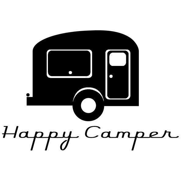 Black clipart camper.  best images on