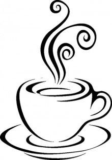 black clipart coffee