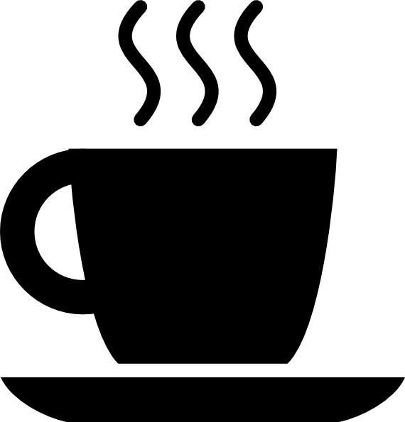 Black clipart coffee. Cup clip art cwemi