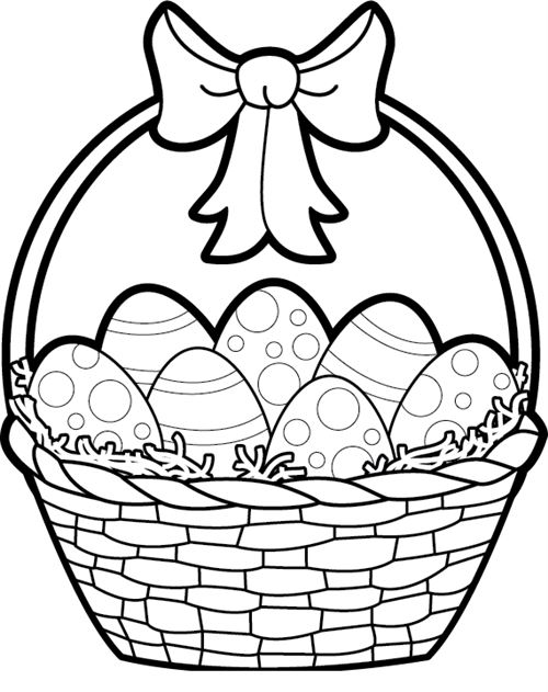 Hd images . Clipart easter black and white