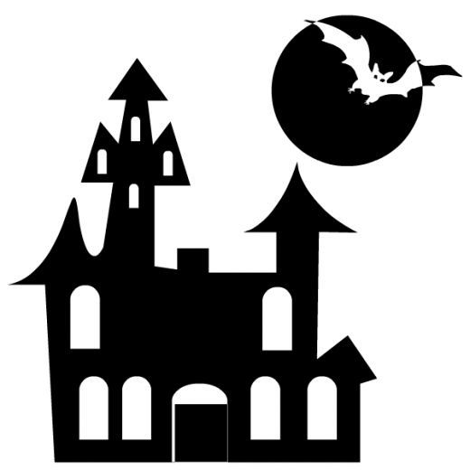 Free and white download. Black clipart halloween