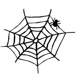 Free and white clip. Black clipart halloween