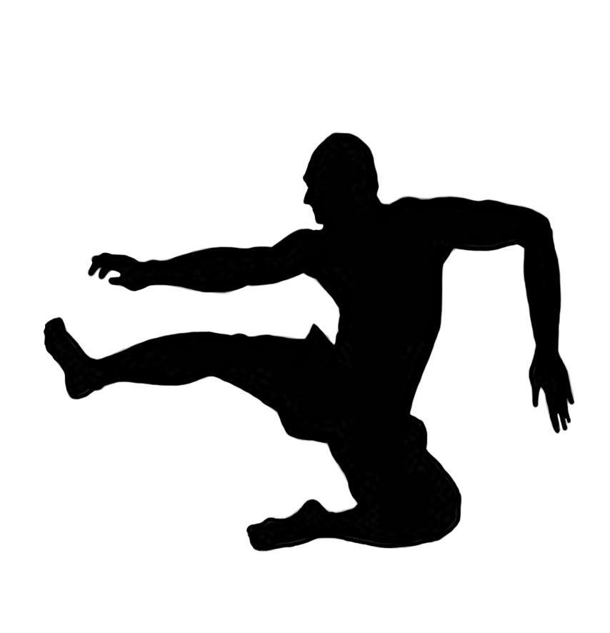 Black clipart sport. Different kinds of sports