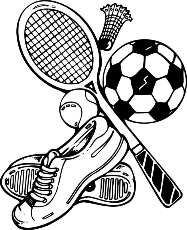 Black clipart sport. Sports hubpicture pin
