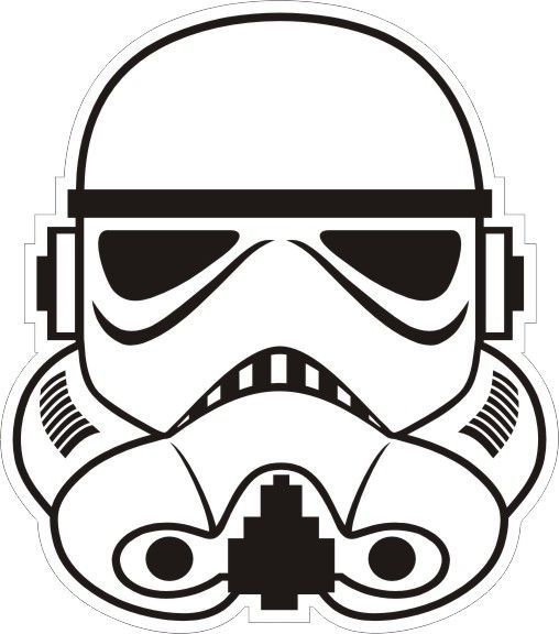 Black clipart star wars. Clip art and white